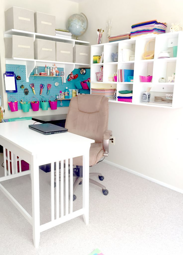 Craft Room Overhaul and created organization for all your craft supplies.