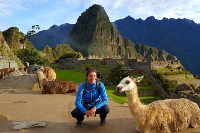 Machu Picchu Tour and Llama