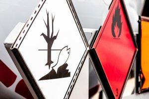 Farligt gods bild för kursen adr 1.3