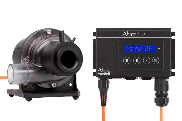 Bomba de presión Abyzz A200-AS