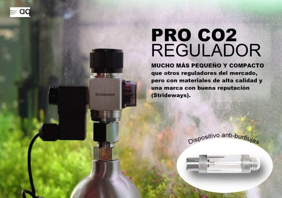 Regulador pro para botellas de CO2