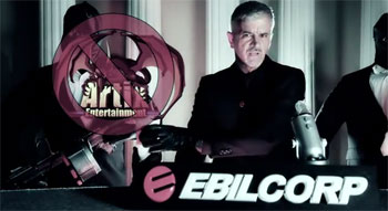 EbilCorp Rouba Jogo 3D Artix