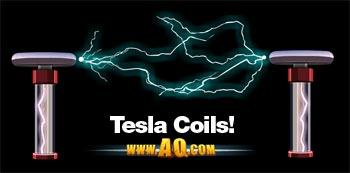 Bobinas de Tesla para o Evento ArcAttack