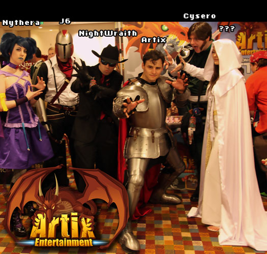 Artix Entertainment em DragonCon