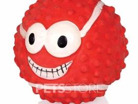 Latex Lopta Smiley 8cm crvena