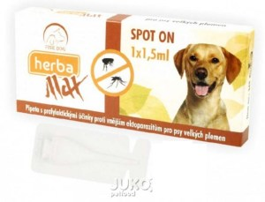 Herba Line SPOT ON Antiparazitna ampula za pse do 25kg
