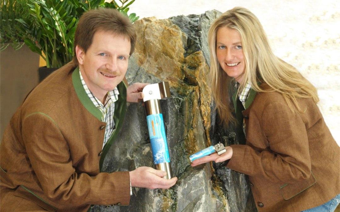 Einbau der aqua-Vit Wasserbelebung