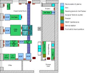 Mount Allison University Laboratory Layout