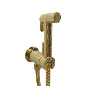 Padlock KSPAT101ORO 07 Гигиенический душ со смесителем скрытого монтажа, с обратным клапаном, шланг 120 см, золото