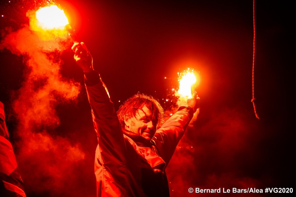 Yannick Bestaven victoire Vendée Globe 2020