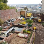 Bristol garden water feature project