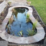 Updated pond completed in Cotswolds