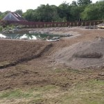 No waste policy as soil is used to profile site