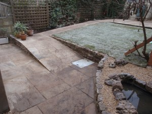 Landscape gardener in Bath