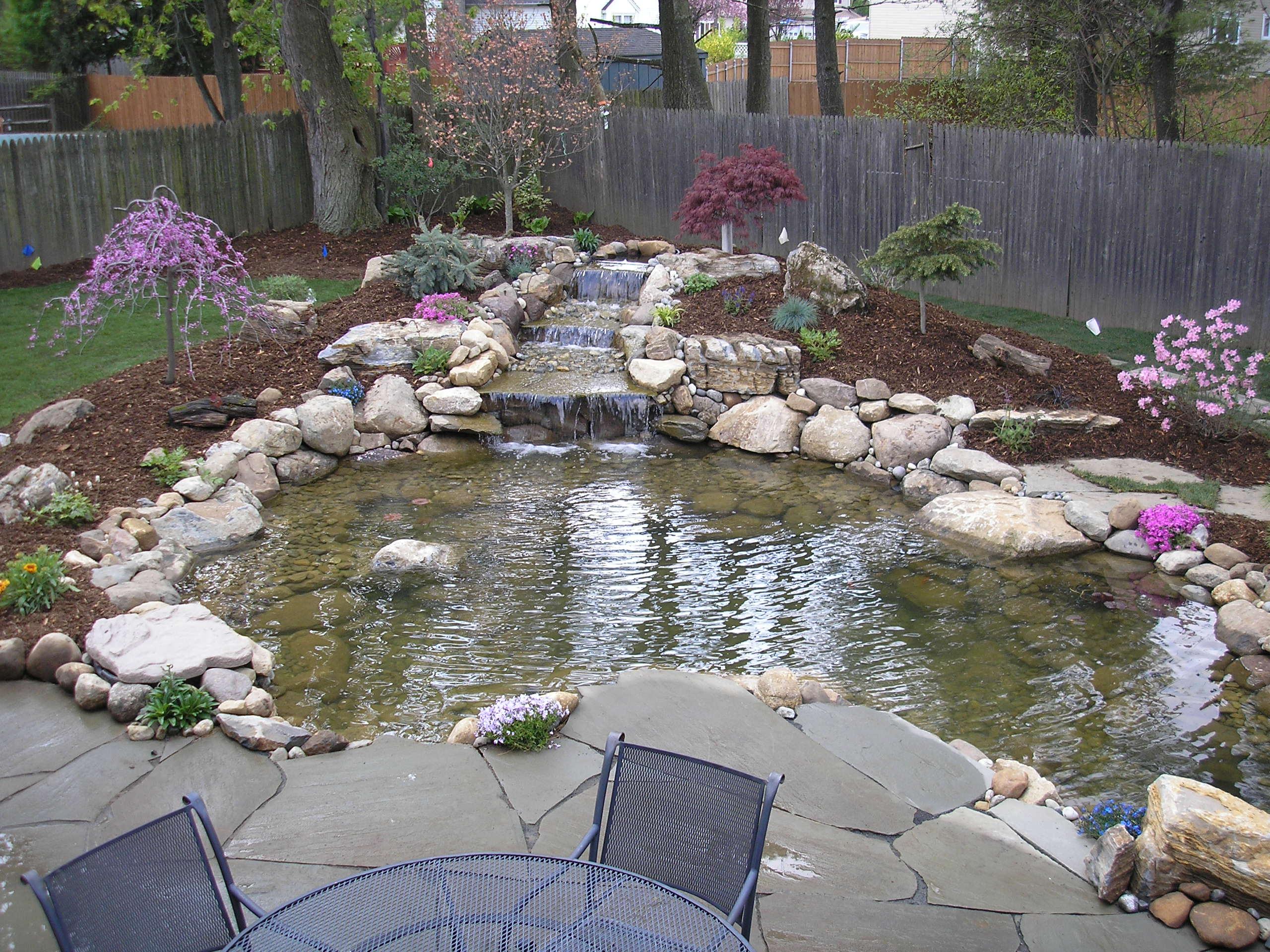 1000+ ideas about Pond Stuff on Pinterest | Koi Ponds ... on Backyard Koi Pond Designs  id=33156