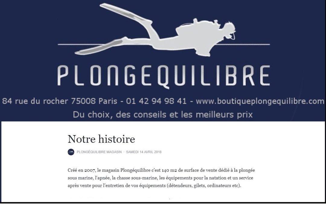 Une nouvelle boutique consacrée à la plongée et à l'apnée vient d'ouvrir à Paris (8e)
