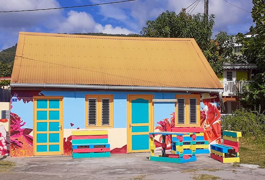 En Janvier-Février 2022 aux Antilles à Saint-Pierre de la Martinique