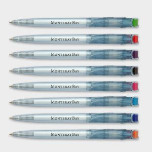 Litani Clear Pen - Recycled Bottles