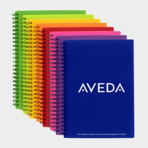 A5 Polypropylene Wire Notebooks – Recycled