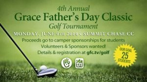 Aquaguard – Title Sponsor of 4th Annual Grace Father's Day Classic Golf Tournament