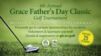 Aquaguard - Title Sponsor of 4th Annual Grace Father's Day Classic Golf Tournament