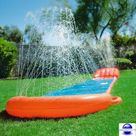tapis de glisse a eau pour enfant