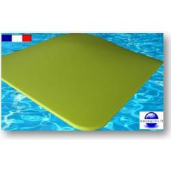 tapis en mousse pour piscine 1 m x 1 m x 3 cm bouts arrondis