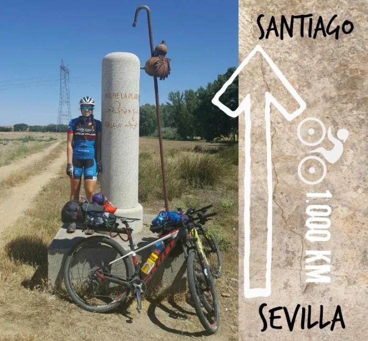 camino santiago bici