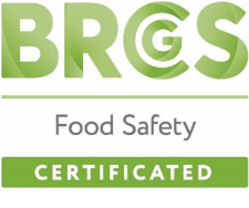 BRCGS Food Safety Certificated