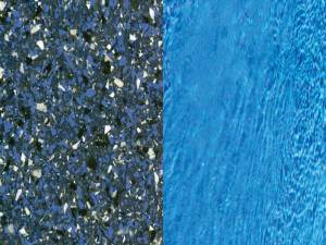 Pacific Blue Finish Swimming Pool Colors by Viking Pools
