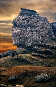 Romanian Sphinx Bucegi by Eduard Vulcanpanoramio