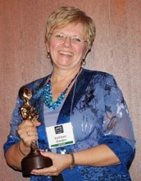 Katgkeeb Marden MUFON 2012 Researcher of the Year award