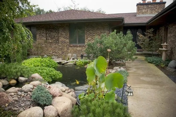 Front Yard Water Features: Boost Your Curb Appeal ... on Front Yard Pond  id=25659