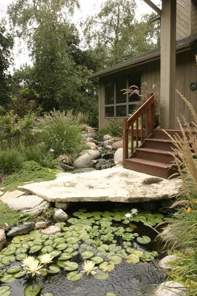Front Yard Water Features: Boost Your Curb Appeal ... on Front Yard Pond  id=16113
