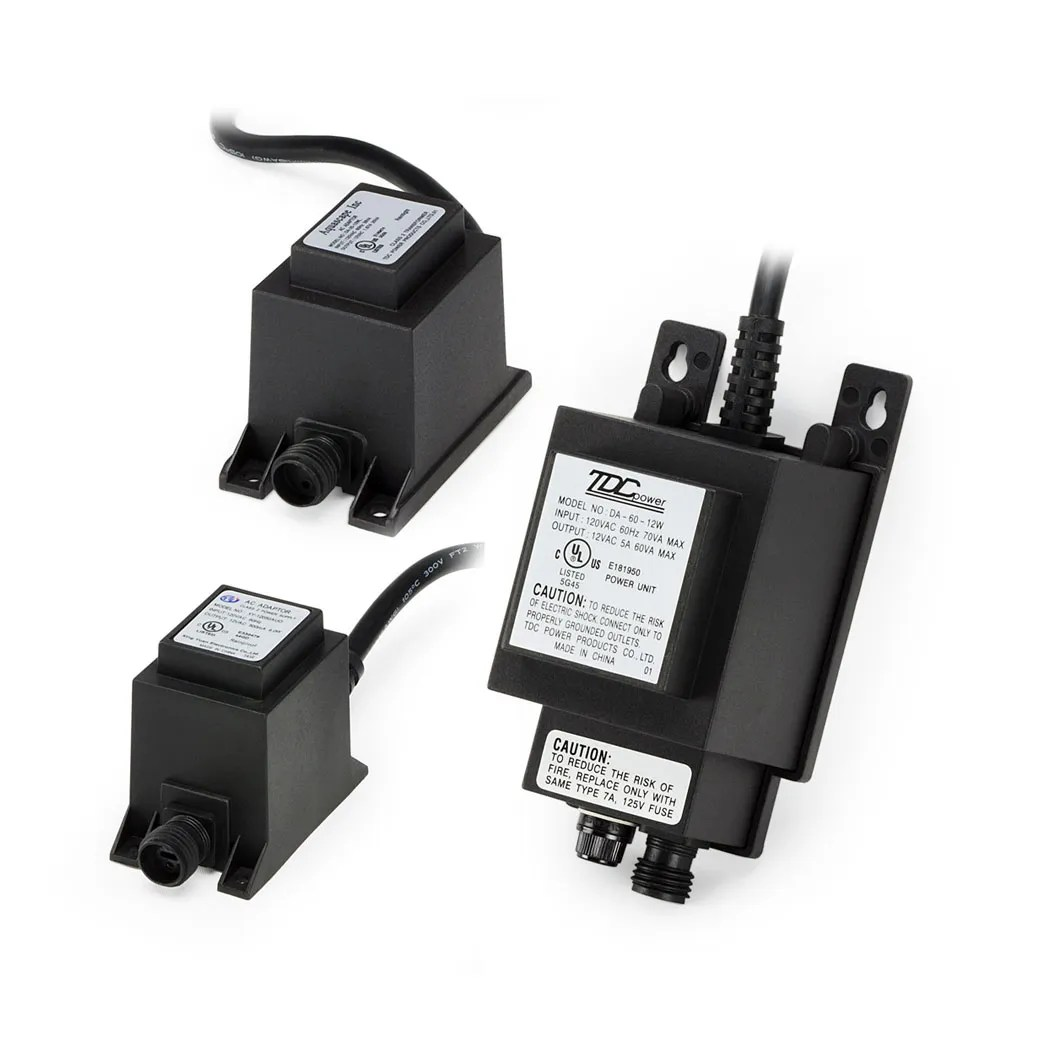 12v quick connect transformers
