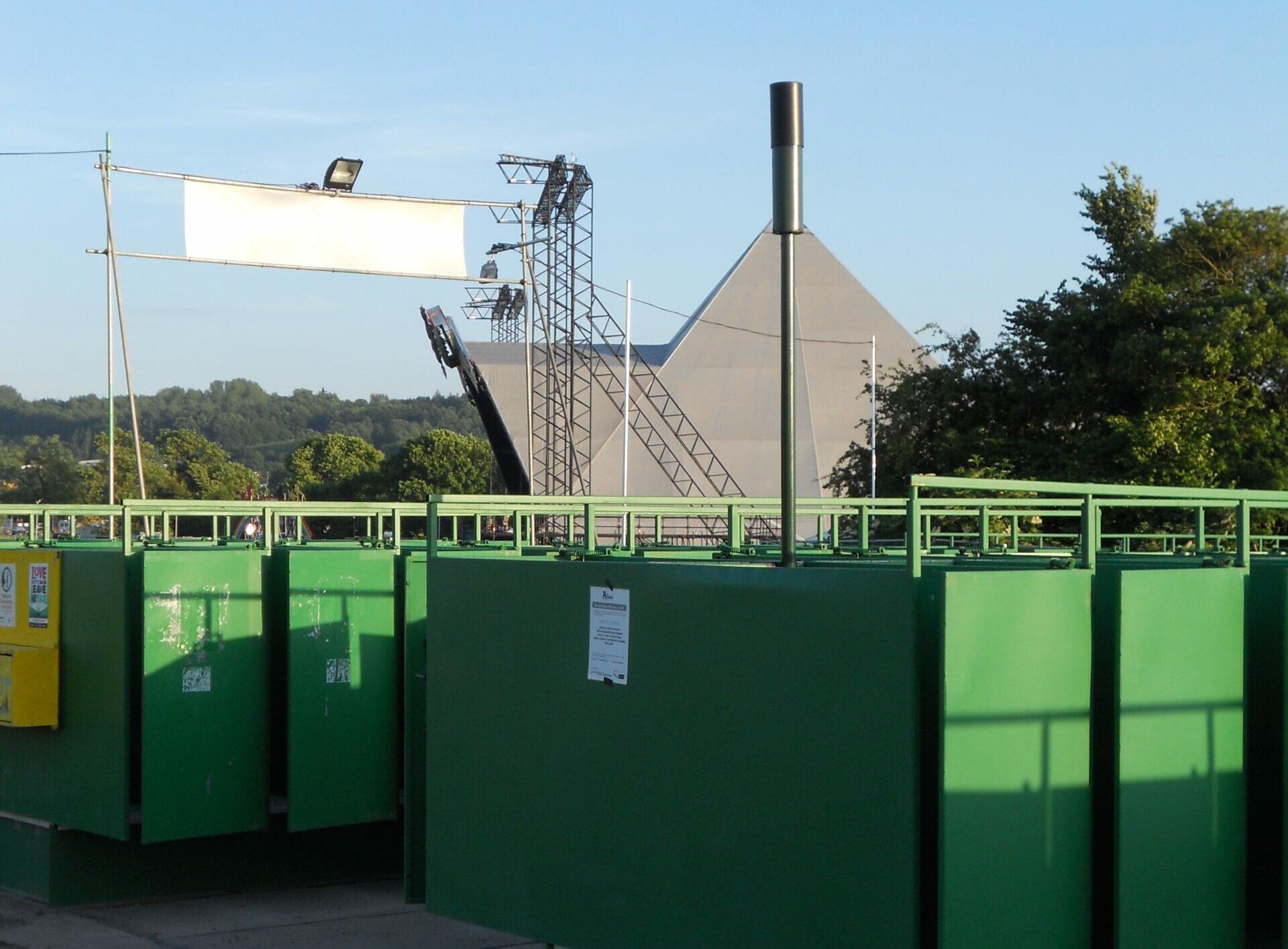 Glastonbury Festival Longdrop level monitoring