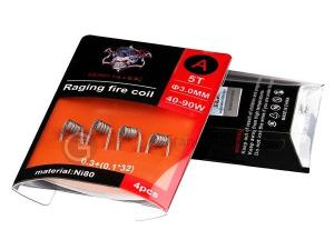 Raging Fire Coil N80 A 0.27ohm