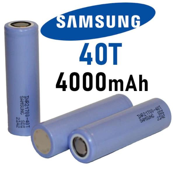 Bateria Samsung 40T 35A 4000mAh