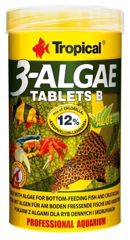 tropical 3-algae tablets b