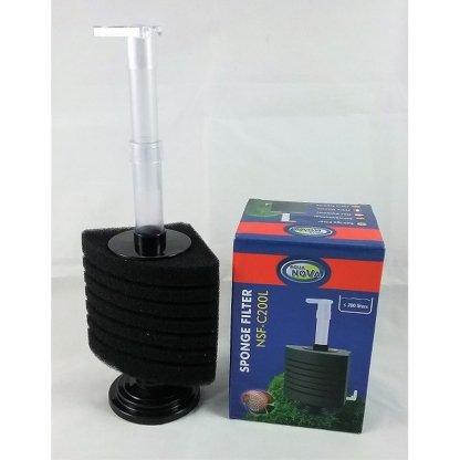aquanova sponge filter nsf-c200l