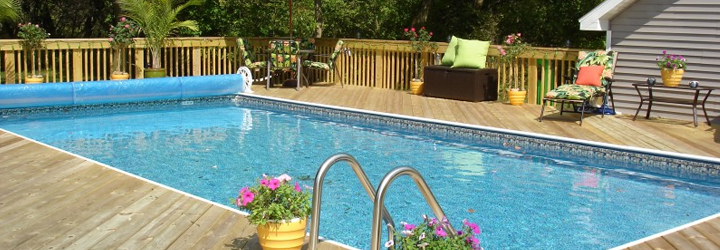 lighting options for above ground pools