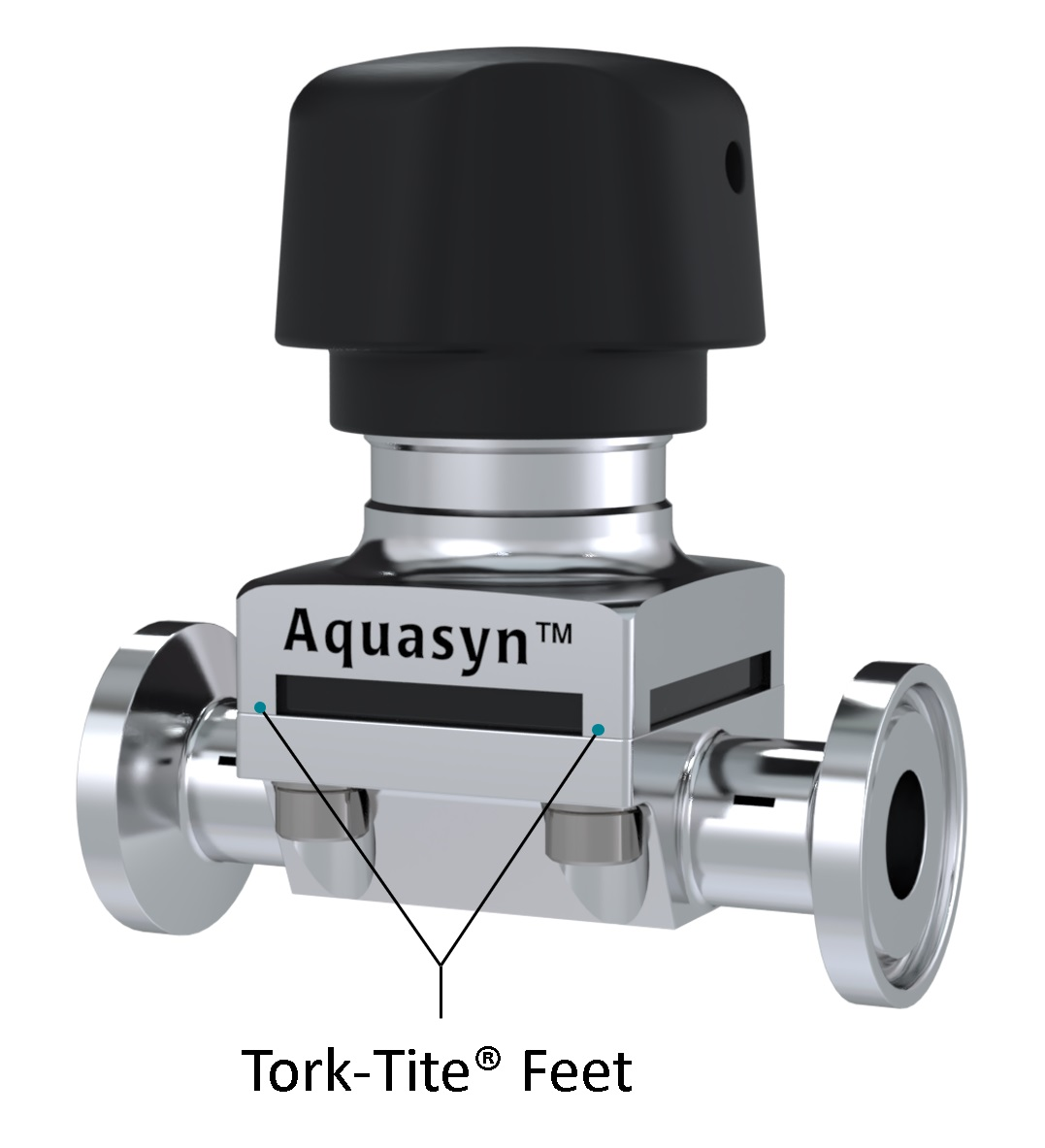 Sanitary Diaphragm Valve for Biotech Industry