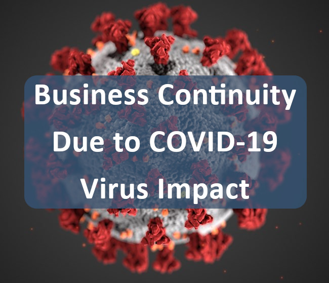 COVID-19 Business Continuity Message