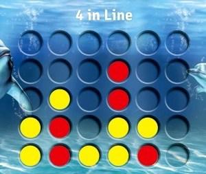4 op een rij