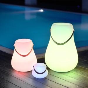 Luxx bloempot LED