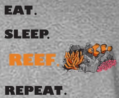 Eat Sleep Reef Repeat Logo