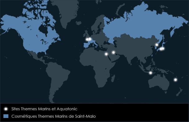 Les Thermes Marins dans le monde