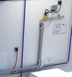 Réalimentation automatique en eau de pluie