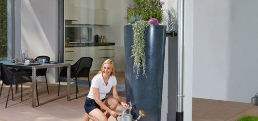 Récupérer l'eaude pluie pour l'arrosage du jardin