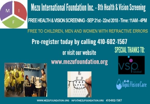 8th MIF, AVC, VSP – Health & Vision Fair